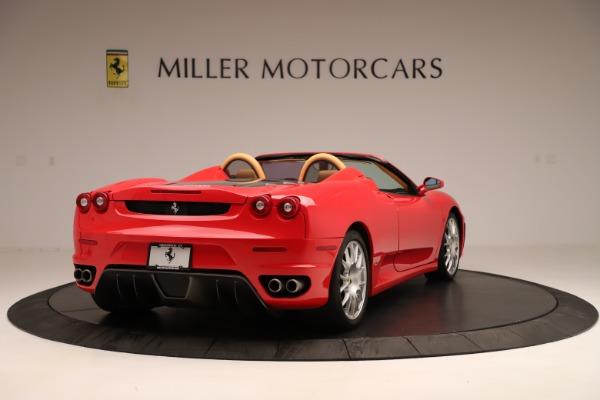 Used 2007 Ferrari F430 F1 Spider for sale Sold at Bugatti of Greenwich in Greenwich CT 06830 7