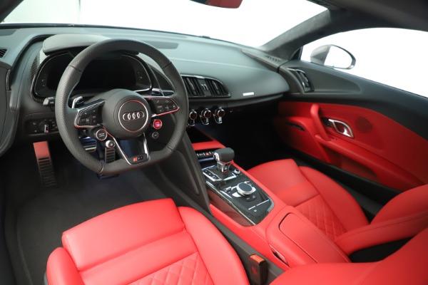 Used 2018 Audi R8 5.2 quattro V10 Plus for sale Sold at Bugatti of Greenwich in Greenwich CT 06830 14