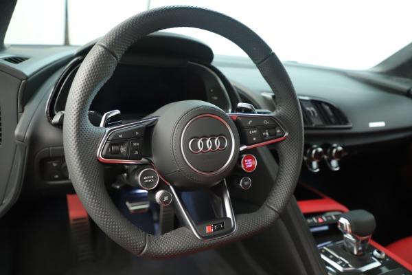 Used 2018 Audi R8 5.2 quattro V10 Plus for sale Sold at Bugatti of Greenwich in Greenwich CT 06830 21