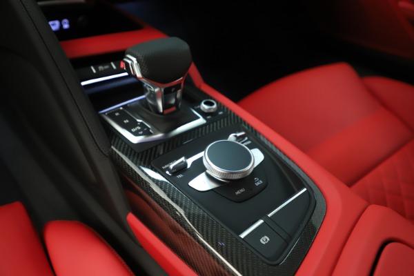 Used 2018 Audi R8 5.2 quattro V10 Plus for sale Sold at Bugatti of Greenwich in Greenwich CT 06830 22