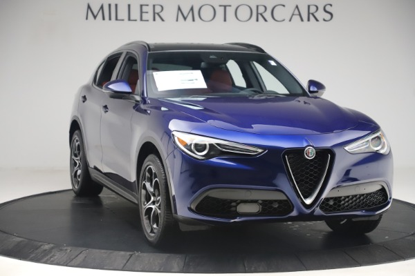 New 2019 Alfa Romeo Stelvio Ti Sport Q4 for sale $58,940 at Bugatti of Greenwich in Greenwich CT 06830 11