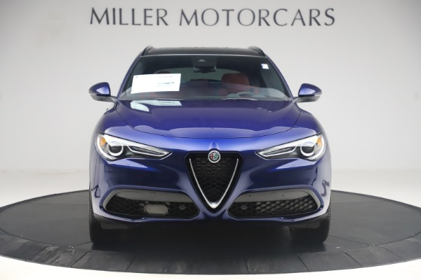 New 2019 Alfa Romeo Stelvio Ti Sport Q4 for sale $58,940 at Bugatti of Greenwich in Greenwich CT 06830 12