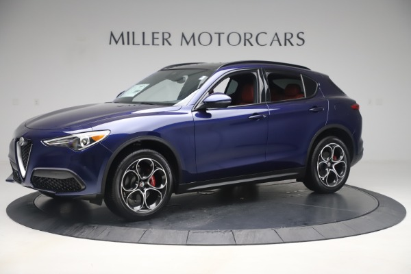 New 2019 Alfa Romeo Stelvio Ti Sport Q4 for sale $58,940 at Bugatti of Greenwich in Greenwich CT 06830 2