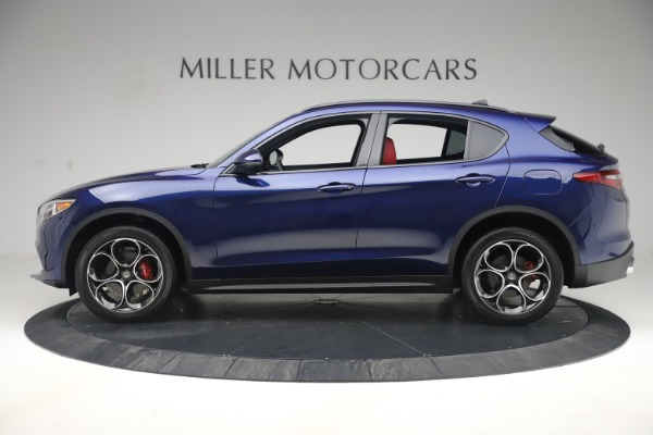 New 2019 Alfa Romeo Stelvio Ti Sport Q4 for sale $58,940 at Bugatti of Greenwich in Greenwich CT 06830 3