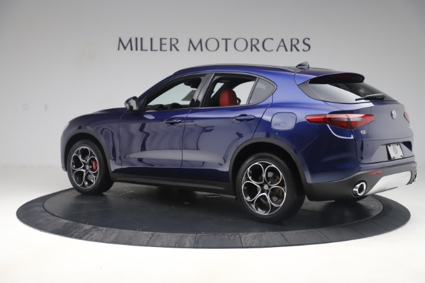 New 2019 Alfa Romeo Stelvio Ti Sport Q4 for sale $58,940 at Bugatti of Greenwich in Greenwich CT 06830 4