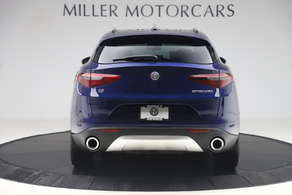 New 2019 Alfa Romeo Stelvio Ti Sport Q4 for sale $58,940 at Bugatti of Greenwich in Greenwich CT 06830 6