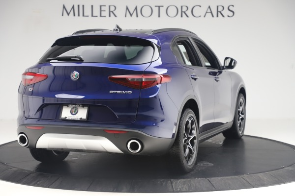 New 2019 Alfa Romeo Stelvio Ti Sport Q4 for sale $58,940 at Bugatti of Greenwich in Greenwich CT 06830 7