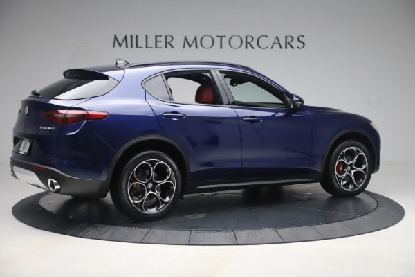 New 2019 Alfa Romeo Stelvio Ti Sport Q4 for sale $58,940 at Bugatti of Greenwich in Greenwich CT 06830 8
