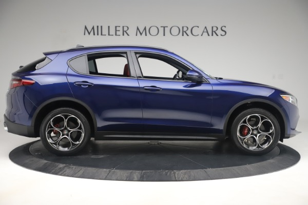 New 2019 Alfa Romeo Stelvio Ti Sport Q4 for sale $58,940 at Bugatti of Greenwich in Greenwich CT 06830 9