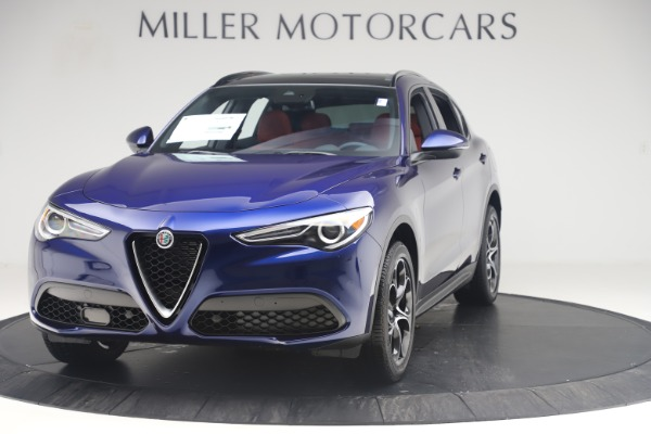 New 2019 Alfa Romeo Stelvio Ti Sport Q4 for sale $58,940 at Bugatti of Greenwich in Greenwich CT 06830 1