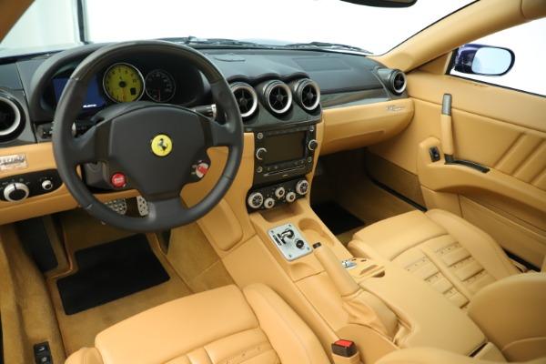 Used 2009 Ferrari 612 Scaglietti OTO for sale Sold at Bugatti of Greenwich in Greenwich CT 06830 14
