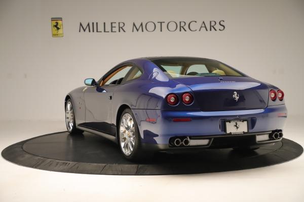 Used 2009 Ferrari 612 Scaglietti OTO for sale Sold at Bugatti of Greenwich in Greenwich CT 06830 5