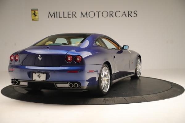 Used 2009 Ferrari 612 Scaglietti OTO for sale Sold at Bugatti of Greenwich in Greenwich CT 06830 7