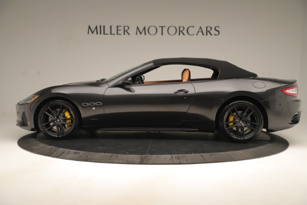 New 2019 Maserati GranTurismo Sport Convertible for sale $163,845 at Bugatti of Greenwich in Greenwich CT 06830 14