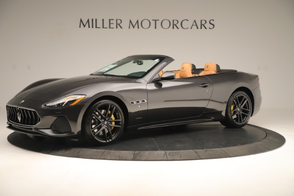 New 2019 Maserati GranTurismo Sport Convertible for sale $163,845 at Bugatti of Greenwich in Greenwich CT 06830 2