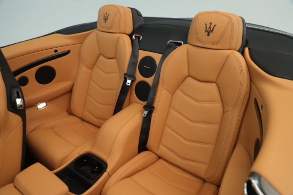 New 2019 Maserati GranTurismo Sport Convertible for sale $163,845 at Bugatti of Greenwich in Greenwich CT 06830 23