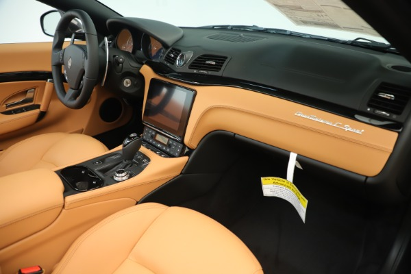 New 2019 Maserati GranTurismo Sport Convertible for sale $163,845 at Bugatti of Greenwich in Greenwich CT 06830 26