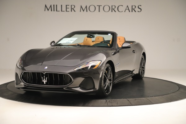 New 2019 Maserati GranTurismo Sport Convertible for sale $163,845 at Bugatti of Greenwich in Greenwich CT 06830 1