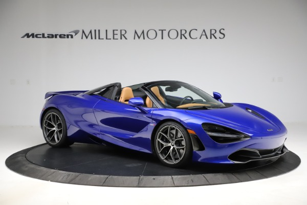 New 2020 McLaren 720S SPIDER Convertible for sale $374,830 at Bugatti of Greenwich in Greenwich CT 06830 10