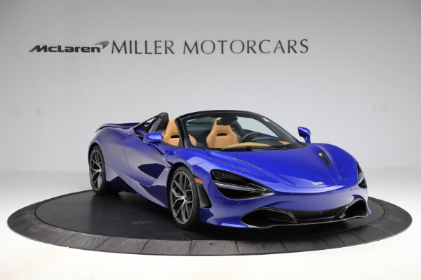 New 2020 McLaren 720S SPIDER Convertible for sale $374,830 at Bugatti of Greenwich in Greenwich CT 06830 11
