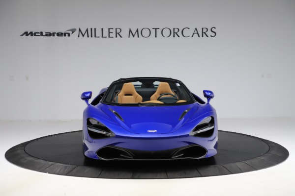 New 2020 McLaren 720S SPIDER Convertible for sale $374,830 at Bugatti of Greenwich in Greenwich CT 06830 12
