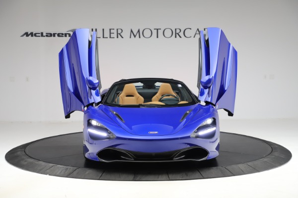 New 2020 McLaren 720S Spider Luxury for sale $374,830 at Bugatti of Greenwich in Greenwich CT 06830 13