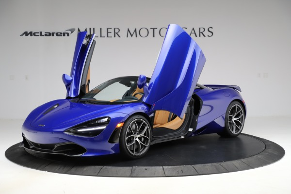 New 2020 McLaren 720S SPIDER Convertible for sale $374,830 at Bugatti of Greenwich in Greenwich CT 06830 14