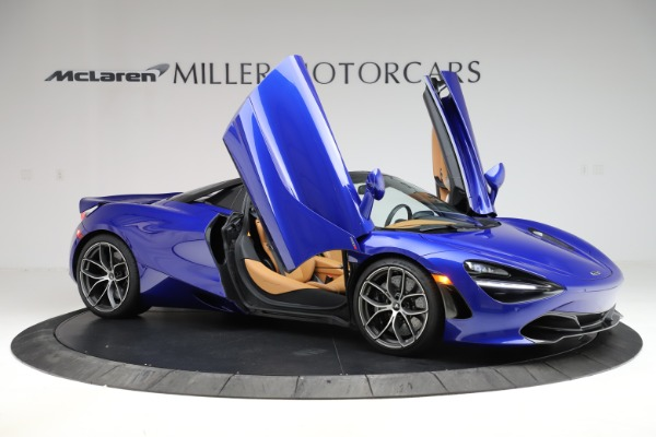 New 2020 McLaren 720S SPIDER Convertible for sale $374,830 at Bugatti of Greenwich in Greenwich CT 06830 15