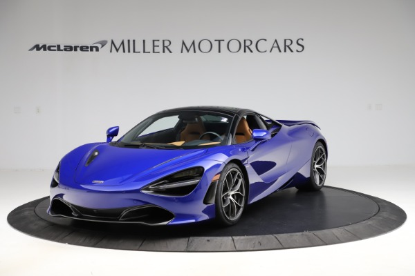 New 2020 McLaren 720S SPIDER Convertible for sale $374,830 at Bugatti of Greenwich in Greenwich CT 06830 16
