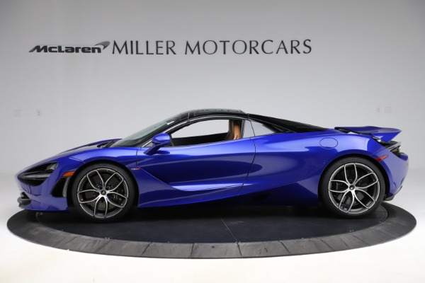 New 2020 McLaren 720S SPIDER Convertible for sale $374,830 at Bugatti of Greenwich in Greenwich CT 06830 17