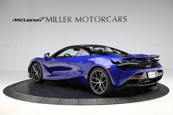 New 2020 McLaren 720S SPIDER Convertible for sale $374,830 at Bugatti of Greenwich in Greenwich CT 06830 18