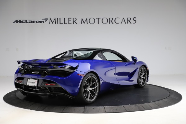 New 2020 McLaren 720S SPIDER Convertible for sale $374,830 at Bugatti of Greenwich in Greenwich CT 06830 19