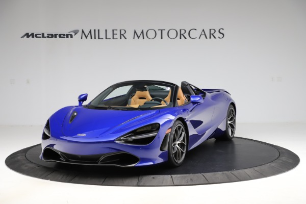 New 2020 McLaren 720S SPIDER Convertible for sale $374,830 at Bugatti of Greenwich in Greenwich CT 06830 2