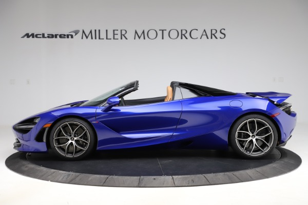 New 2020 McLaren 720S SPIDER Convertible for sale $374,830 at Bugatti of Greenwich in Greenwich CT 06830 3