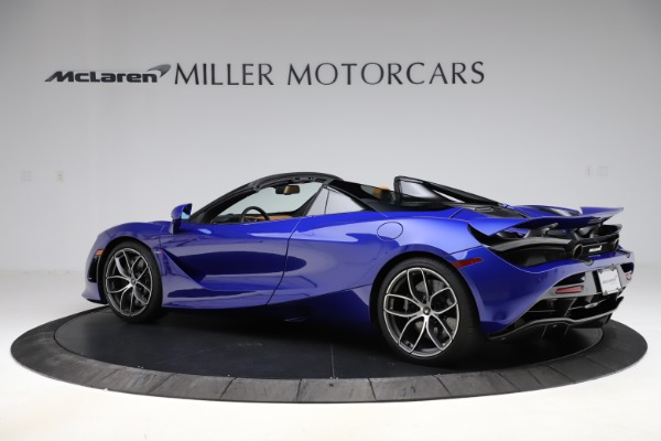 New 2020 McLaren 720S SPIDER Convertible for sale $374,830 at Bugatti of Greenwich in Greenwich CT 06830 4