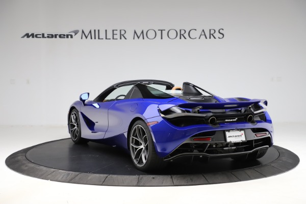 New 2020 McLaren 720S SPIDER Convertible for sale $374,830 at Bugatti of Greenwich in Greenwich CT 06830 5