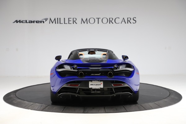 New 2020 McLaren 720S SPIDER Convertible for sale $374,830 at Bugatti of Greenwich in Greenwich CT 06830 6