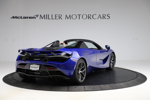 New 2020 McLaren 720S SPIDER Convertible for sale $374,830 at Bugatti of Greenwich in Greenwich CT 06830 7