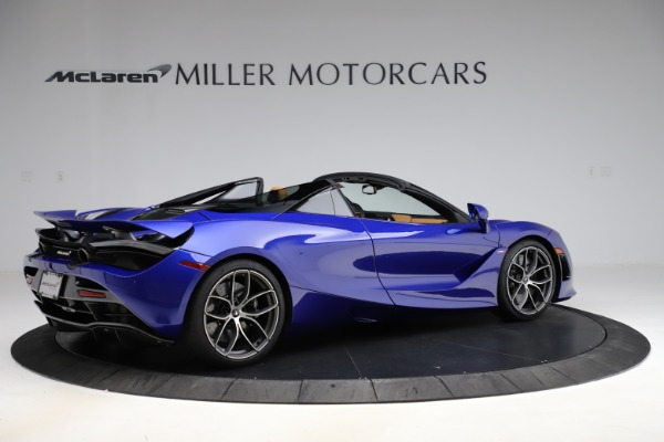 New 2020 McLaren 720S SPIDER Convertible for sale $374,830 at Bugatti of Greenwich in Greenwich CT 06830 8
