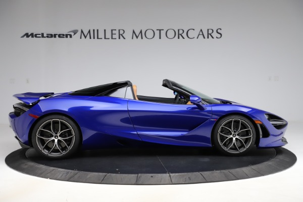 New 2020 McLaren 720S SPIDER Convertible for sale $374,830 at Bugatti of Greenwich in Greenwich CT 06830 9