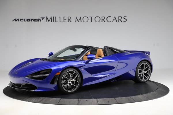New 2020 McLaren 720S Spider Luxury for sale $374,830 at Bugatti of Greenwich in Greenwich CT 06830 1
