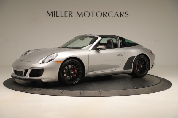Used 2017 Porsche 911 Targa 4 GTS for sale Sold at Bugatti of Greenwich in Greenwich CT 06830 2