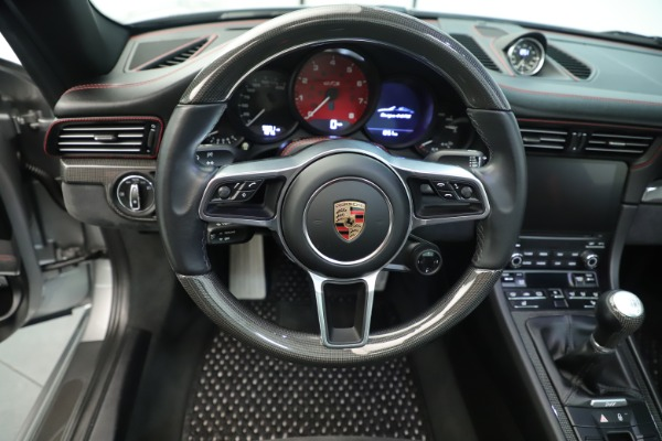 Used 2017 Porsche 911 Targa 4 GTS for sale Sold at Bugatti of Greenwich in Greenwich CT 06830 25