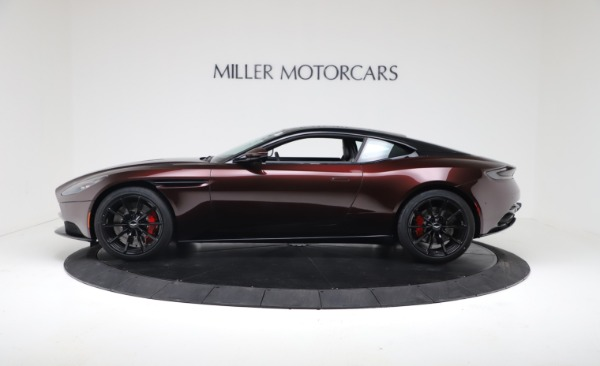 New 2019 Aston Martin DB11 V12 AMR Coupe for sale Sold at Bugatti of Greenwich in Greenwich CT 06830 3