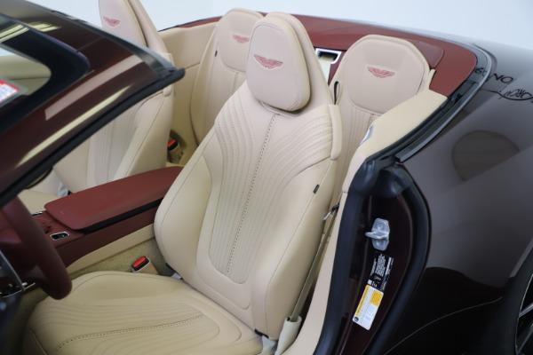 Used 2020 Aston Martin DB11 Volante Convertible for sale $219,900 at Bugatti of Greenwich in Greenwich CT 06830 23