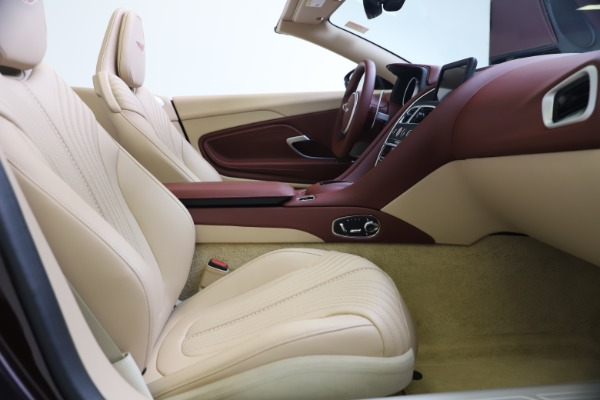 Used 2020 Aston Martin DB11 Volante Convertible for sale $219,900 at Bugatti of Greenwich in Greenwich CT 06830 25