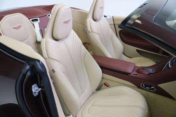 Used 2020 Aston Martin DB11 Volante Convertible for sale $219,900 at Bugatti of Greenwich in Greenwich CT 06830 26