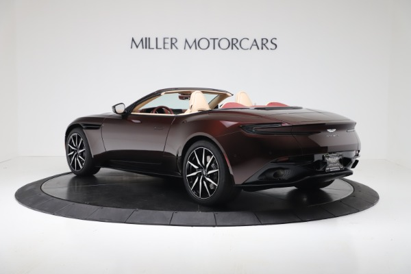 Used 2020 Aston Martin DB11 Volante Convertible for sale $219,900 at Bugatti of Greenwich in Greenwich CT 06830 4