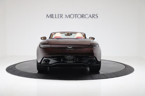Used 2020 Aston Martin DB11 Volante Convertible for sale $219,900 at Bugatti of Greenwich in Greenwich CT 06830 5