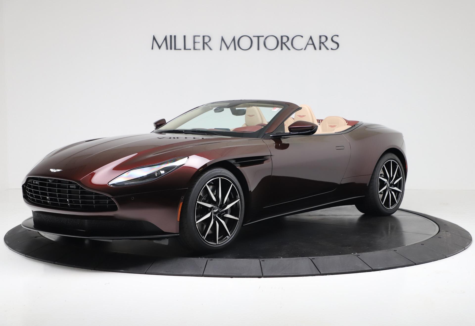 New 2020 Aston Martin DB11 Volante Convertible for sale Sold at Bugatti of Greenwich in Greenwich CT 06830 1